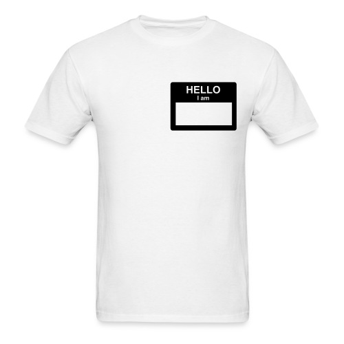 Hello shirt - Men's T-Shirt