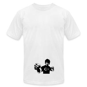 Bruce Pumpin Corner - Men's Fine Jersey T-Shirt