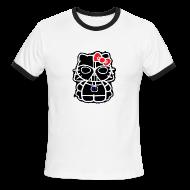 T-Shirts ~ Men's Ringer T-Shirt ~ Darth Kitty Ring Tee