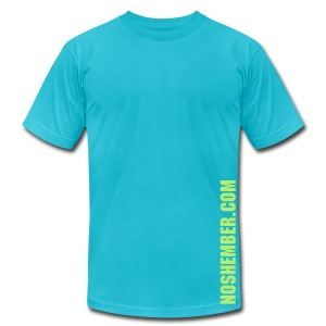 Noshember.com Are You Man Enough Dude's Tee - Men's T-Shirt by American Apparel