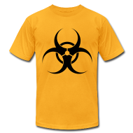T-Shirts ~ Men's T-Shirt by American Apparel ~ Biohazard