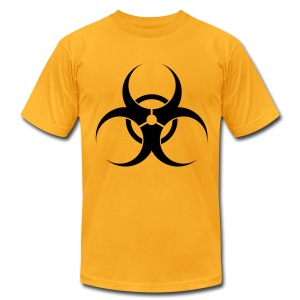 Biohazard - Men's T-Shirt by American Apparel