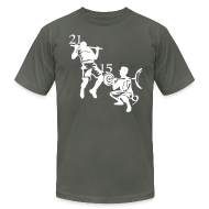 T-Shirts ~ Men's T-Shirt by American Apparel ~ Fran 21-15-9 Mens