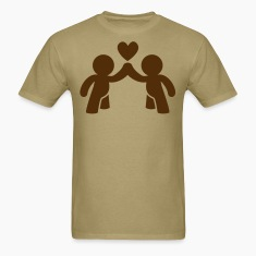 CUTE LOVE gay COUPLE T-Shirts