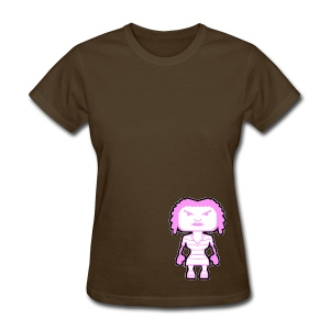 Girl blockhead - Women's T-Shirt