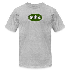 Geek Dice - Men's T-Shirt by American Apparel