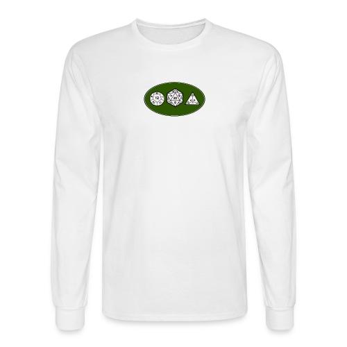 Geek Dice - Men's Long Sleeve T-Shirt