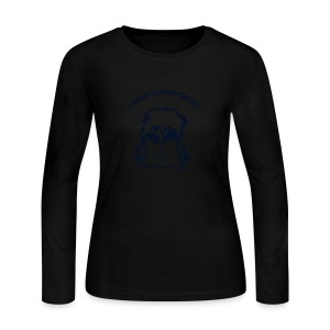 Women's Specialty Flex (Black Glitz) Jersey Tee - Women's Long Sleeve Jersey T-Shirt