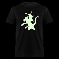 T-Shirts ~ Men's T-Shirt ~ GOOFY DRAGON (GLOW IN THE DARK)