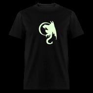 T-Shirts ~ Men's T-Shirt ~ DRAGON (GLOW IN THE DARK)