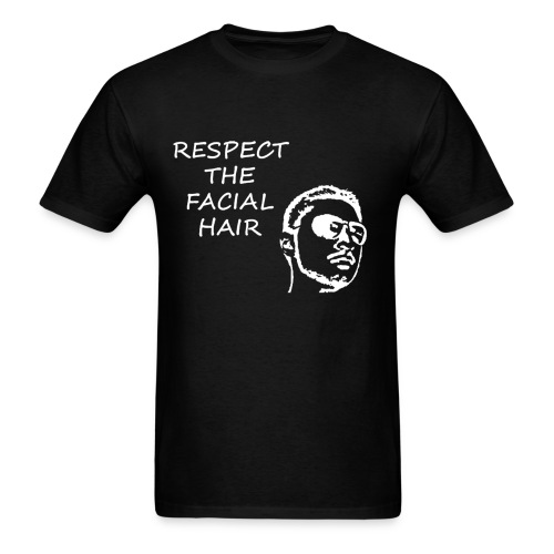 FACIAL HAIR WHITE (MEN'S) - Men's T-Shirt