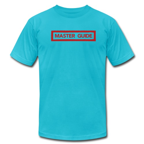 Master Guide FLOCK PRINT Mens - Men's Fine Jersey T-Shirt