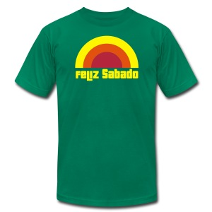 Feliz Sabado 3 Color Mens - Men's T-Shirt by American Apparel
