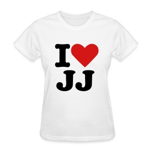 I Love JJ - Women's - Women's T-Shirt