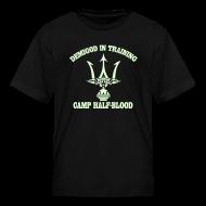 Kids' Shirts ~ Kids' T-Shirt ~ GLOW IN THE DARK DEMIGOD T-Shirt - Trident - Halloween Limited Edition
