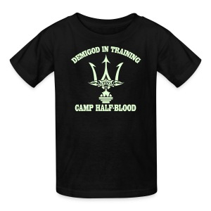 GLOW IN THE DARK DEMIGOD T-Shirt - Trident - Halloween Limited Edition - Kids' T-Shirt