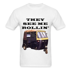 THEY SEE ME ROLLIN' BLACK (MEN'S) - Men's T-Shirt
