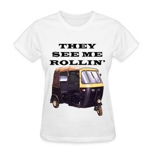 THEY SEE ME ROLLIN' BLACK (WOMEN'S) - Women's T-Shirt