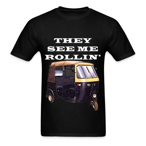THEY SEE ME ROLLIN' WHITE (MEN'S) - Men's T-Shirt