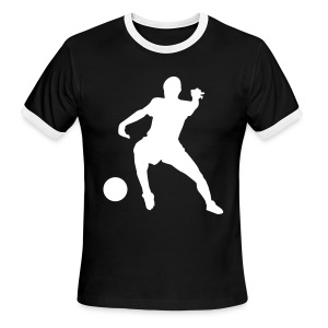 soccer14-S/S t-shirt - Men's Ringer T-Shirt