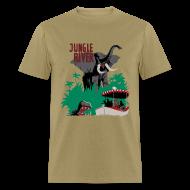 T-Shirts ~ Men's T-Shirt ~ Jungle River- Vintage Disneyland Poster Style