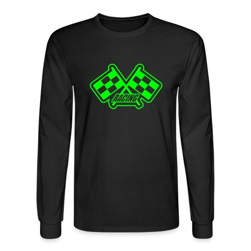 Long Sleeve Green Team Jersey - Men's Long Sleeve T-Shirt