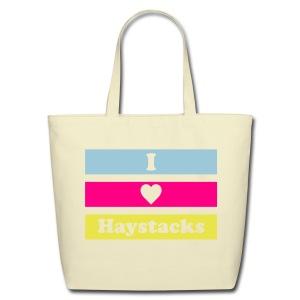 Haystacks 3 Color Tote - Eco-Friendly Cotton Tote