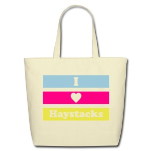 Haystacks 3 Color Tote - Eco-Friendly Cotton Tote