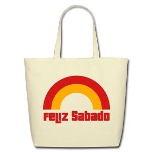 Feliz Sabado 2 Color Tote - Eco-Friendly Cotton Tote