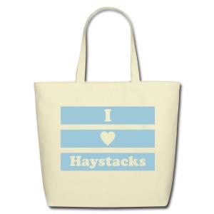 Haystacks 1 Color Tote - Eco-Friendly Cotton Tote