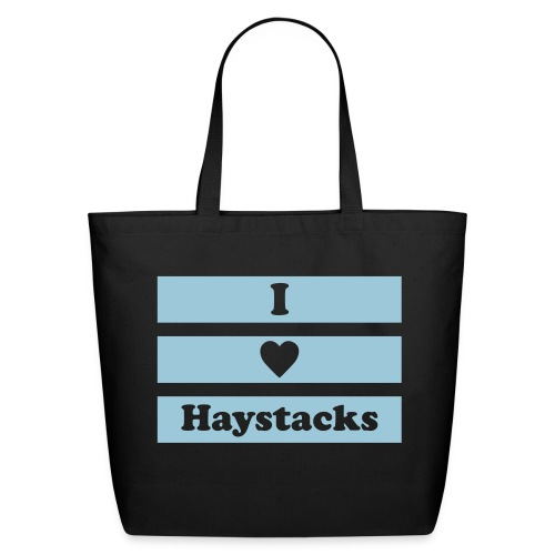 Haystacks 1 Color Tote - Eco-Friendly Cotton Tote