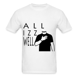 ALL IZZ WELL BLACK (MEN'S) - Men's T-Shirt