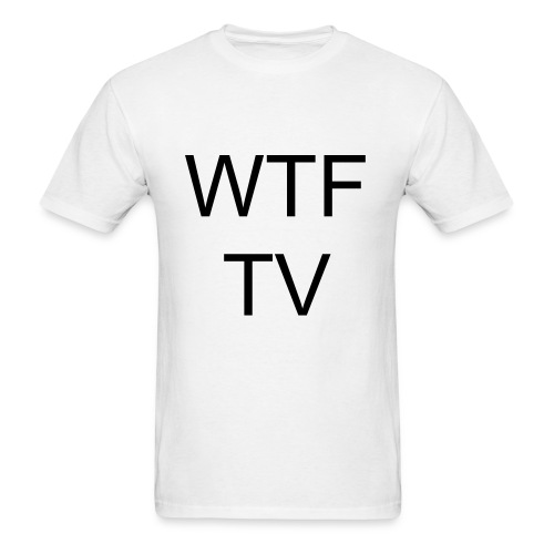 WTF TV shirt - Men's T-Shirt