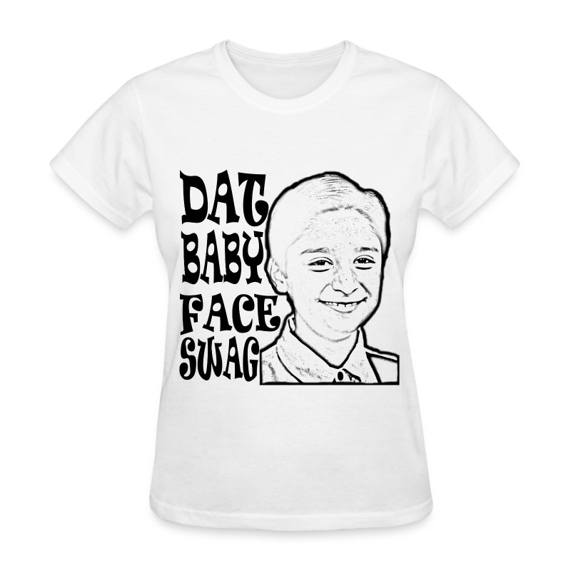 DAT BABY FACE SWAG BLACK (WOMEN'S) - Women's T-Shirt