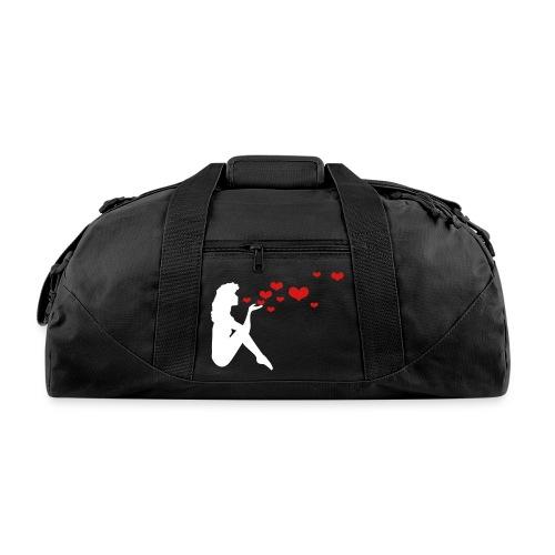 Kisses Pinup Girl Gym Bag - Duffel Bag