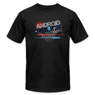T-Shirts ~ Men's T-Shirt by American Apparel ~ Ted417