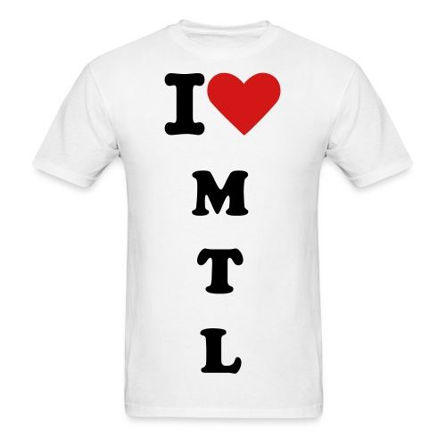 I love MTL - Men's T-Shirt