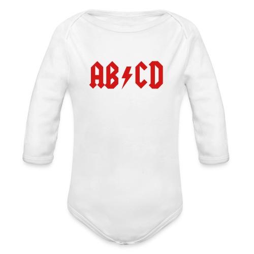 AB/CD - Organic Long Sleeve Baby Bodysuit