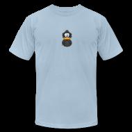 T-Shirts ~ Men's T-Shirt by American Apparel ~ Adiumy Black