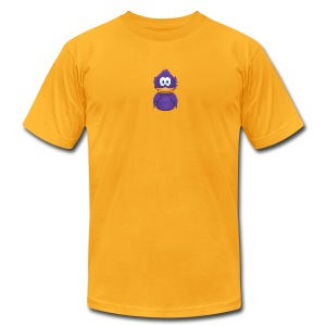 Adiumy Purple - Men's T-Shirt by American Apparel