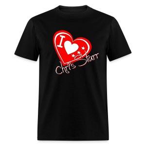 I Love Chris Starr - Men's T-Shirt