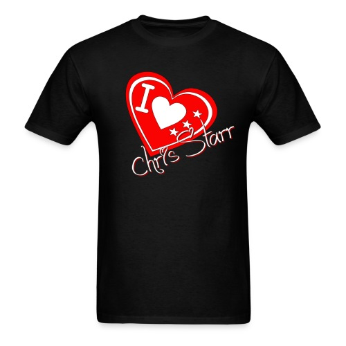 I Love Chris Starr - Men's T-Shirt