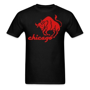 Vintage Style Bulls Men's Standard Weight T-Shirt - Men's T-Shirt
