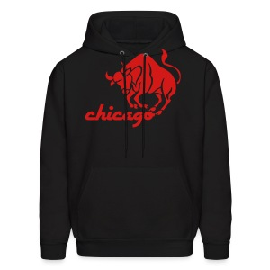 Vintage Style Bulls Men's Hooded Sweatshirt - Men's Hoodie