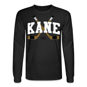 Chicago Kane Hockey Sticks Men's Long Sleeve Tee - Men's Long Sleeve T-Shirt