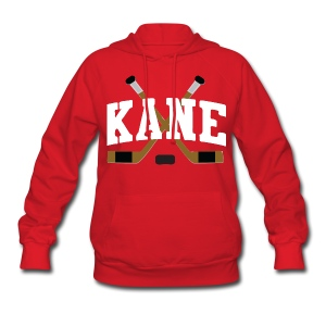 Chicago Kane Hockey Sticks Women's Hooded Sweatshirt - Women's Hoodie