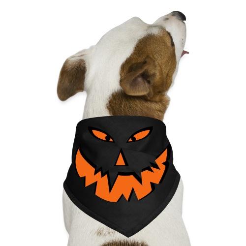 Scary Pumpkin Face Dog Bandana - Dog Bandana