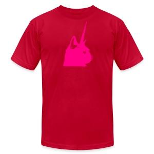 Men's Pink Unicat - Men's Fine Jersey T-Shirt