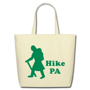 Hike PA Girl - Eco-Friendly Cotton Tote