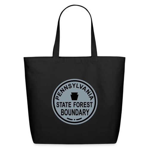PA State Forest Boundary - Eco-Friendly Cotton Tote